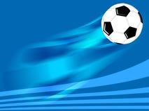 Bille du football Images libres de droits