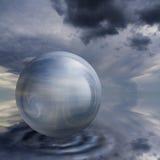 Bille en cristal Images libres de droits
