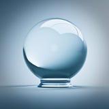 Bille en cristal Photographie stock libre de droits
