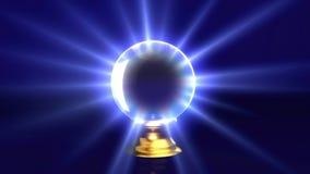 Bille en cristal de mystère Images libres de droits