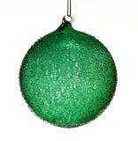 Bille en verre de Noël photos libres de droits
