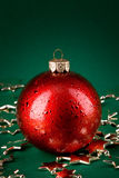 Bille et étoiles de Noël Image stock