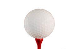 Bille et té de golf photo libre de droits