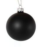 Bille noire de Noël Photo stock