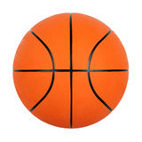 Bille orange de basket-ball Photos stock