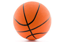 Bille orange de basket-ball. Photos stock