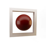 Bille rouge Photos stock