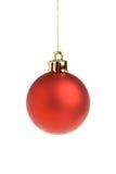 Bille rouge de Noël Photos libres de droits