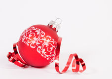 Bille rouge de Noël Images libres de droits