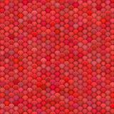 billes 3d pelucheuses dans des couleurs rouge-rose multiples Photographie stock libre de droits