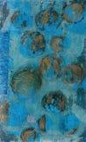 Billes abstraites d'or illustration de vecteur