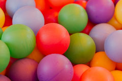 Billes colorées Photos libres de droits