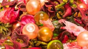 Billes colorées de bain Photo stock