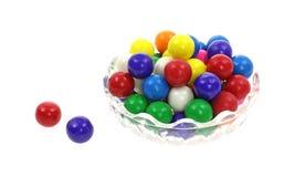 Billes colorées de bubble-gum Photos libres de droits