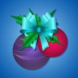 Billes colorées de Noël ENV 10 Photo libre de droits