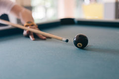 Billes de billards Images libres de droits