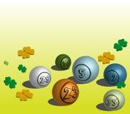 Billes de bingo-test Image libre de droits