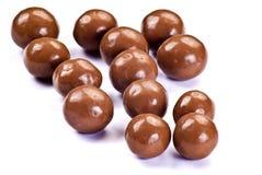 Billes de chocolat photographie stock