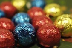Billes de chocolat Photos stock