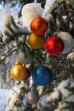 Billes de Christmass photographie stock libre de droits