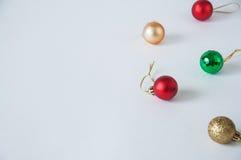 Billes de Christmass Images libres de droits