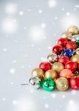 Billes de Christmass Photo libre de droits