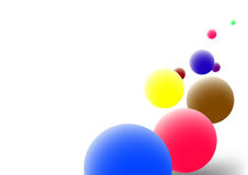 Billes de couleur Image stock