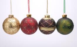 Billes de décoration de Noël Photo libre de droits