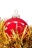 billes de décorations de Noël-arbre Photo stock