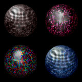 Billes de disco Photo stock