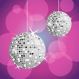 Billes de disco Images stock