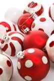 Billes de fête de Noël image libre de droits