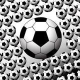 Billes de football illustration de vecteur