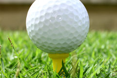 Billes de golf photo libre de droits
