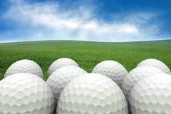 Billes de golf Images stock