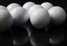 Billes de golf Images libres de droits