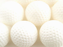 Billes de golf de pratique Image stock