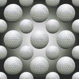 Billes de golf sans joint illustration de vecteur