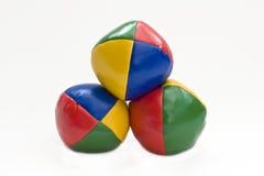 Billes de jonglerie Photos libres de droits