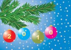Billes de Noël Photo stock