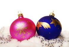 Billes de Noël. Images libres de droits