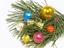 Billes de Noël. Photos stock