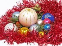 Billes de Noël. Photo libre de droits