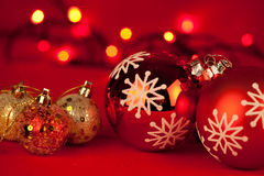 Billes de Noël image stock