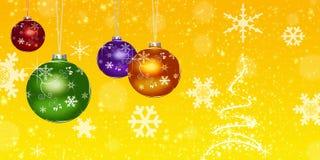 Billes de Noël, illustration stock