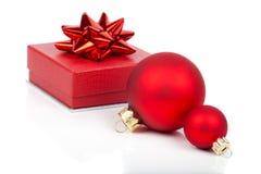 Billes de Noël photographie stock