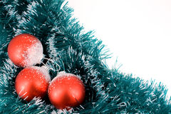Billes de Noël Photo libre de droits