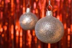 Billes de Noël. photographie stock libre de droits