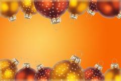Billes de Noël Photos libres de droits