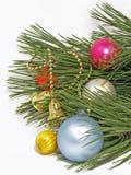 Billes de Noël. D'isolement. Images stock